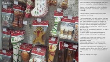 VERIFY: Are Christmas-themed dog treats dangerous?