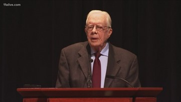Former President Jimmy Carter comments on U.S. relations with North Korea