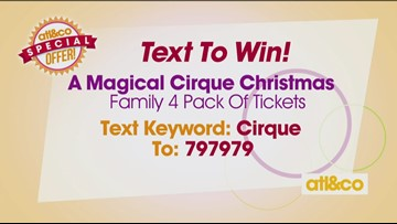 Enter to WIN tickets to 'A Magical Cirque Christmas'
