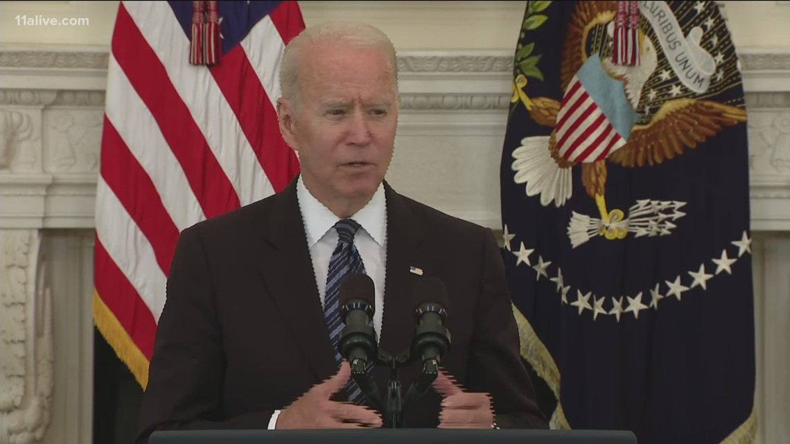 Biden on crime: Background checks on firearm purchases are important