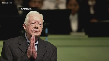 Well wishes pouring in for former President Jimmy Carter after hip surgery