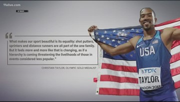 Two-time Olympic gold medalist from Georgia wants to help next generation of athletes