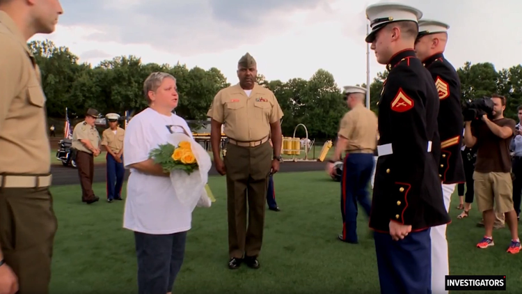 Marine mom works through heartache and humiliation to honor her son