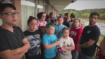 Families scrambling to find shelter after Cartersville complex condemned