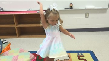 Despite rare disease, blind 3-year-old girl is 'sunshine' in class
