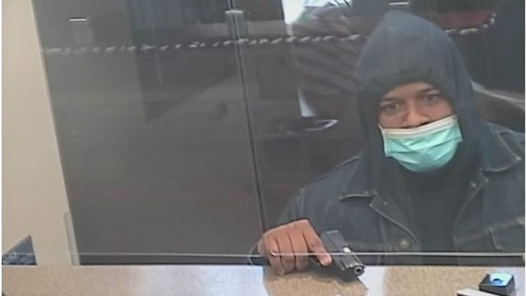 Authorities looking for Johns Creek bank robbery suspect seen in surveillance images
