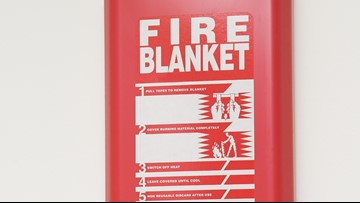 VERIFY: Do experts recommend fire blankets in case of fire?