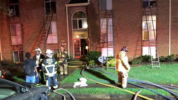 Six families displaced by Decatur apartment fire