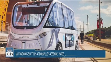 Autonomous Shuttles at Doraville's Assembly Yards