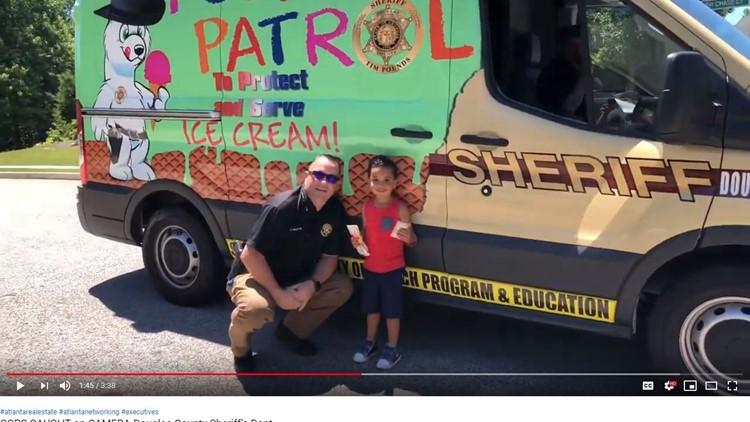Douglas County Sheriff's Polar Patrol ice cream truck returns, surprises kids with free treats