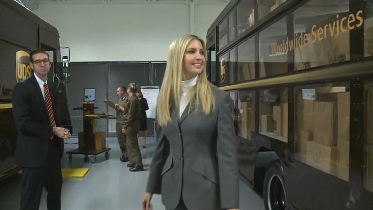 Ivanka Trump - UPS Gwinnett Co. - Duluth GA