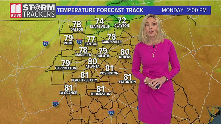 Evening weather for April 11, 2021