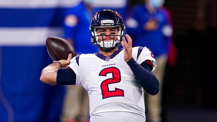 Falcons sign quarterback A.J. McCarron
