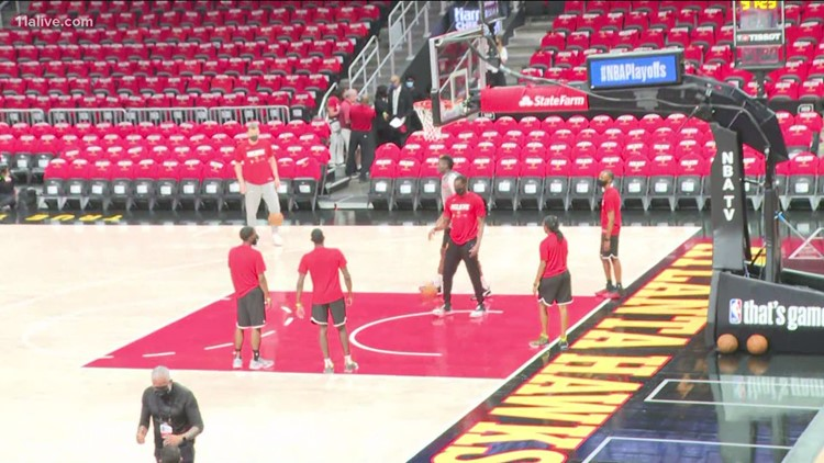 Hawks fans ready for Game 3 against Knicks in playoffs