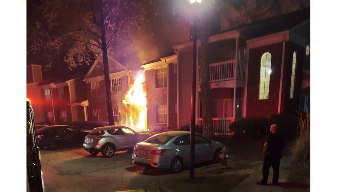 Fire at Gwinnett apartment complex leaves 25 adults, 11 kids without a home