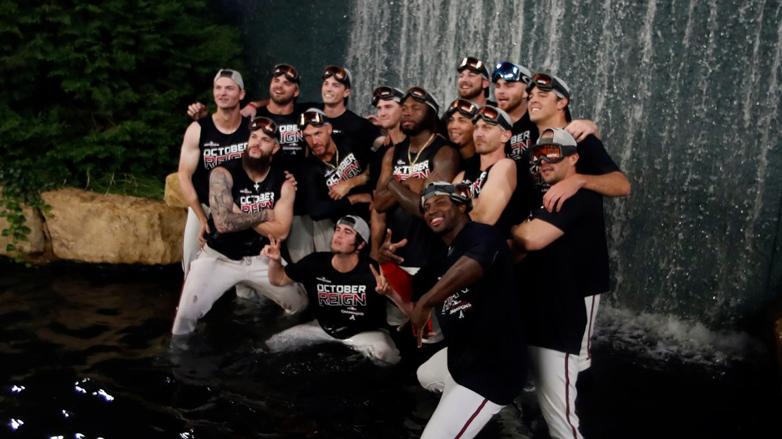 Braves win National League East title second year in a row