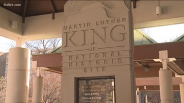 Visitors are at the King Historic Site once again