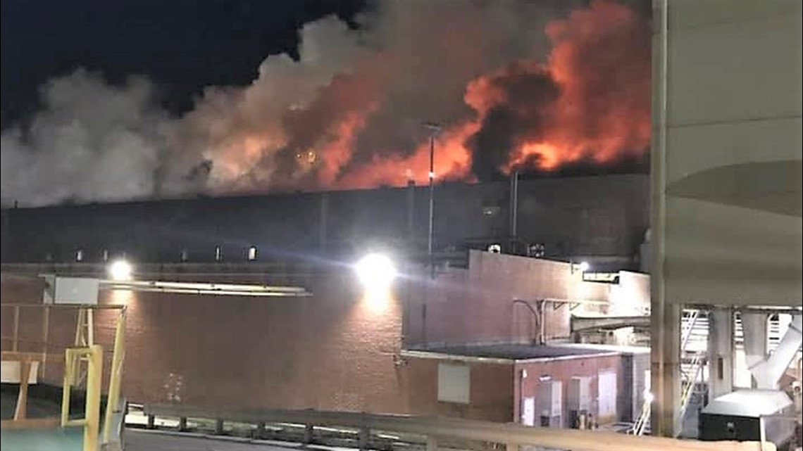 Rome Ga Fire At International Paper Mill Causes Serious Damage 11alive Com