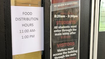 Fulton County School Systems providing meals for local schools during the closures