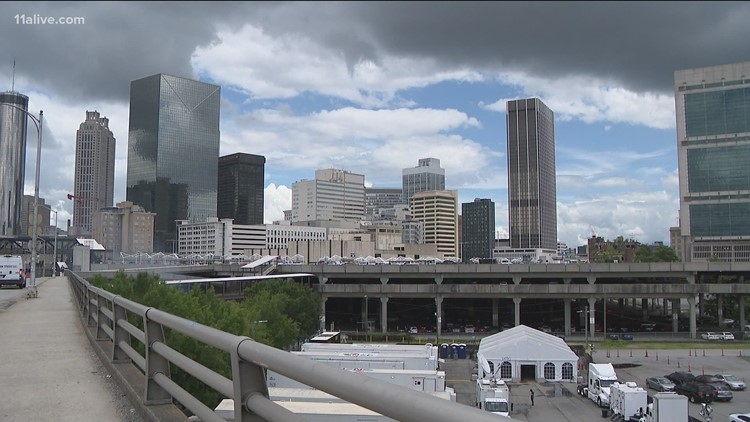 Hawks playoff games help boost business in Downtown Atlanta