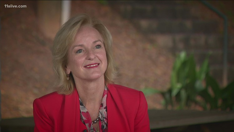 Buckhead businesswoman emerges in mayoral poll