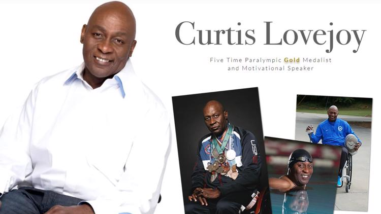 Five time Paralympic Gold Medalist Curtis Lovejoy laid to rest