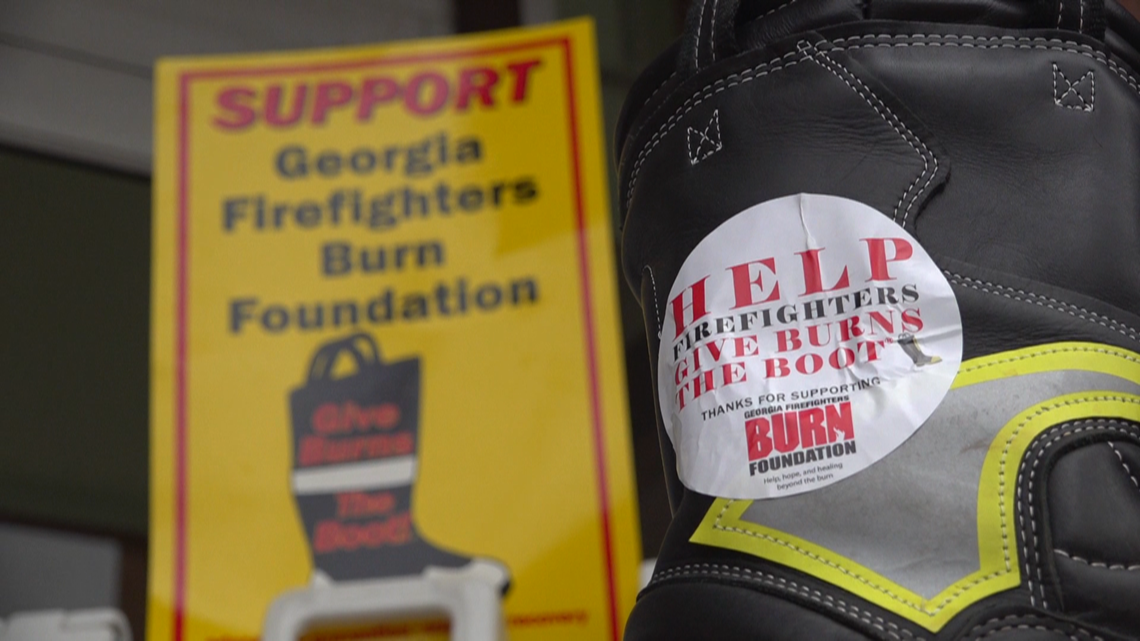 Local firefighters raise funds for burn victims