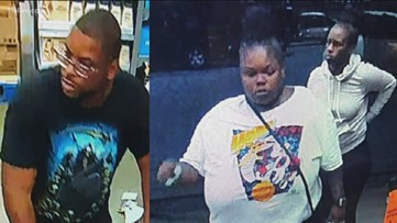 Police search for 3 alleged Walmart shoplifters