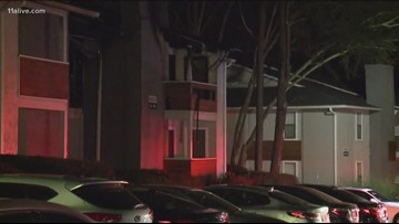 Two injured - one from jumping to safety - in Smyrna apartment fire