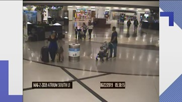 Video, report detail attempted child abduction at Hartsfield-Jackson