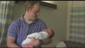 Dove awarding grants to expecting fathers