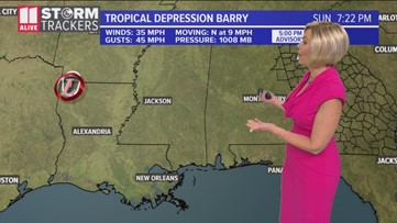Tracking the Tropics: Update on Barry