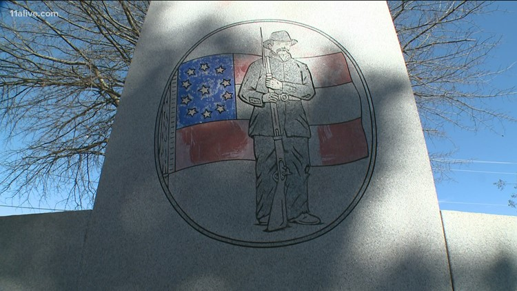 Gwinnett County board votes to move Lawrenceville Confederate monument to storage