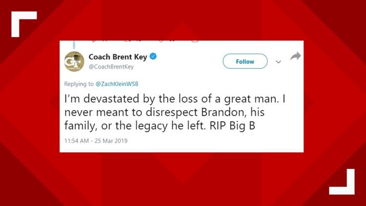 Brent Key tweet