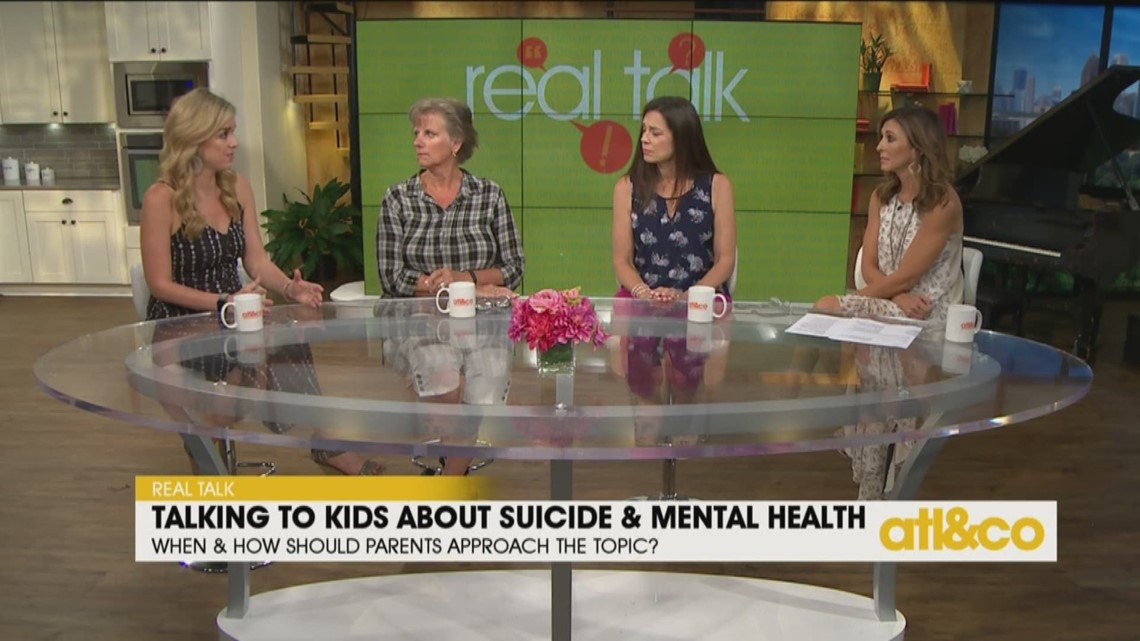 Real Parents Real Talk About Kids And >> Real Talk Talking To Kids About Suicide 11alive Com