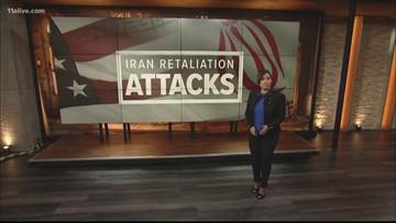 Iran launches retaliatory attacks, nation and world await Trump's response