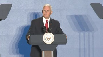 Mike Pence endorses Georgia abortion law, rallies supporters for 2020 in Atlanta speech