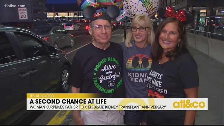 Dad Celebrates Kidney Transplant Anniversary at Disney