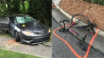 Cyclist struck and killed in alleged DUI in Sandy Springs