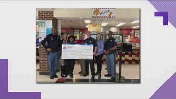 Cobb County Police help pay off school lunch balances