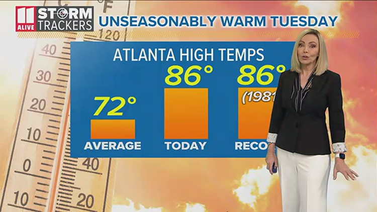 Evening forecast April 13, 2021 | Warm temperatures will trend downward
