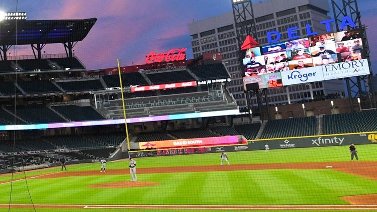 Atlanta Braves host home opener