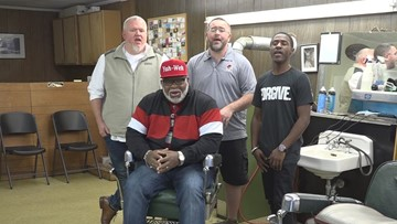 Four men come together to form unlikely but true barbershop quartet