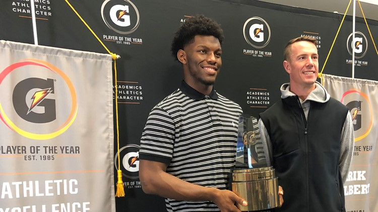 Arik Gilbert Matt Ryan Gatorade Player of the Year Marietta