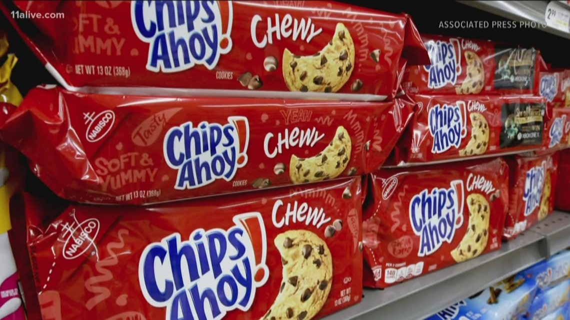 Chips Ahoy! chewy cookies recalled