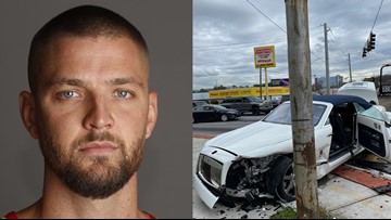 Hawks say Parsons to get treatment in Calif. following crash involving DUI driver