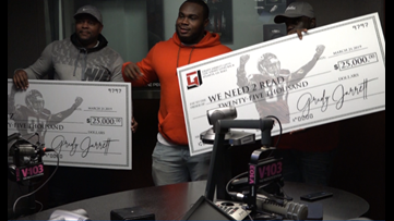 Atlanta Falcons' Grady Jarrett surprises two organizations with $50,000 donation