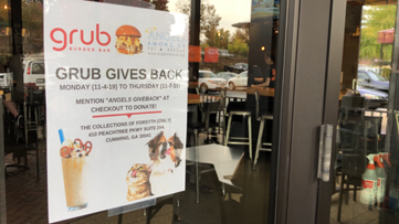 Non-profit partners with restaurant to help animals in need