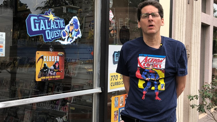 Need to escape is driving metro Atlanta comic book sales, shop owner says