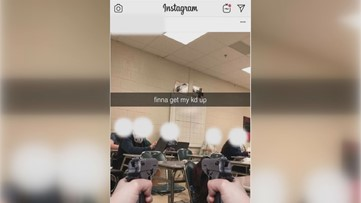 'finna get my kd up': Pickens County student charged with terroristic threats over social post